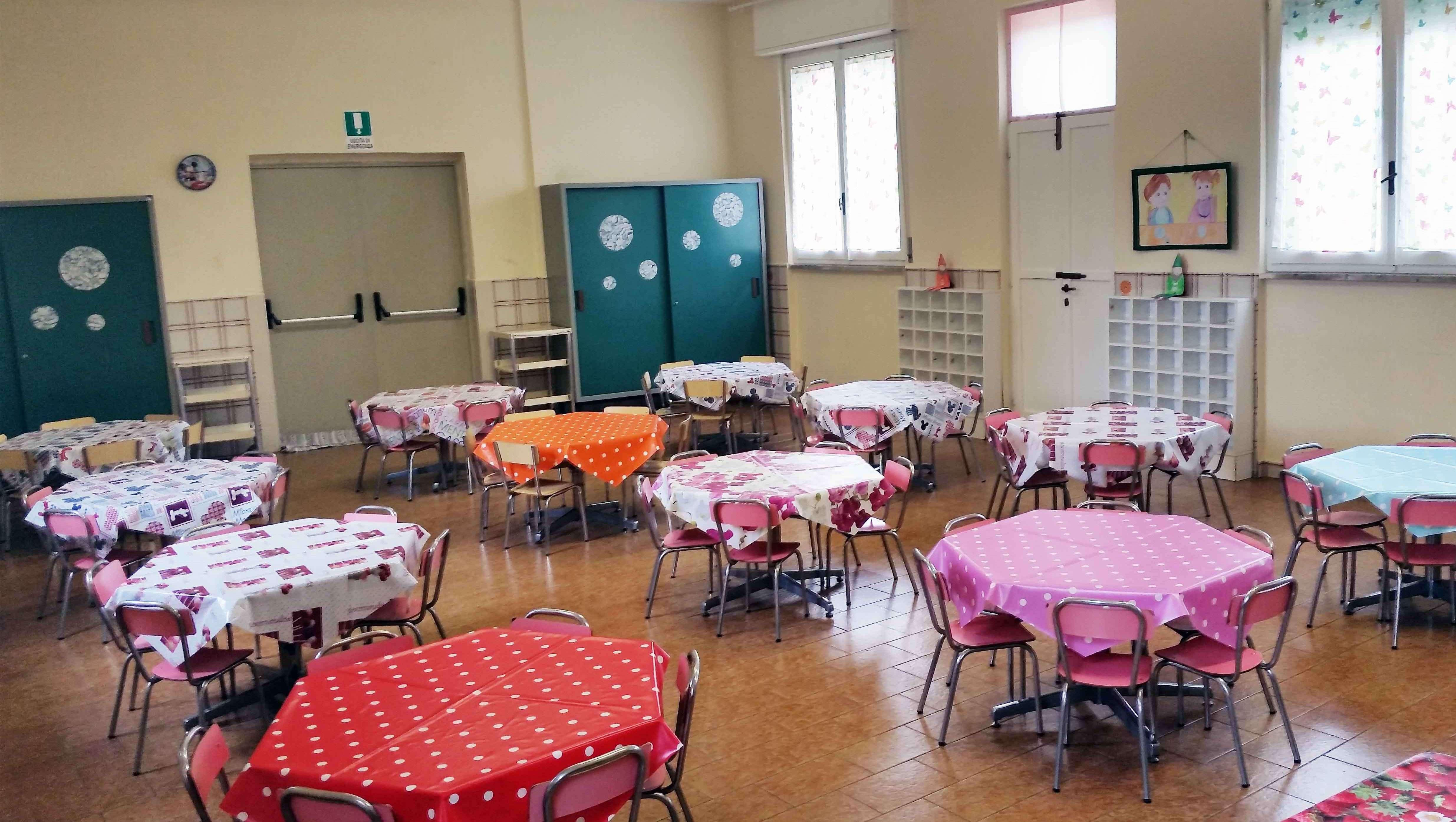 mensa2 e1498489452505 - Scuola Materna Peschiera Borromeo