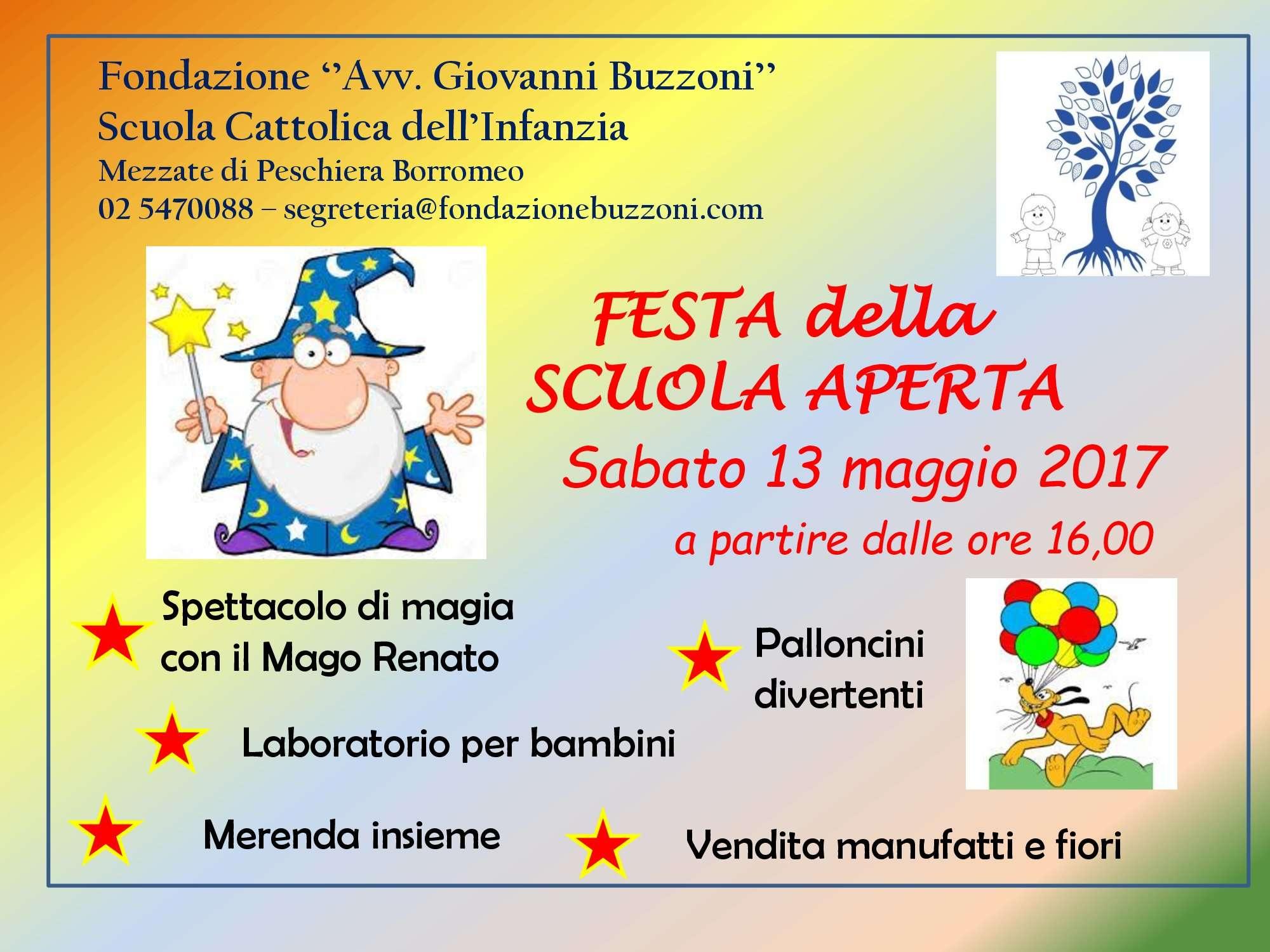 Festa della Scuola -13 Maggio 2017 - Scuola Materna Peschiera Borromeo