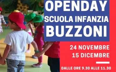 Open Day Scuola Infanzia Buzzoni 2018 – 2019