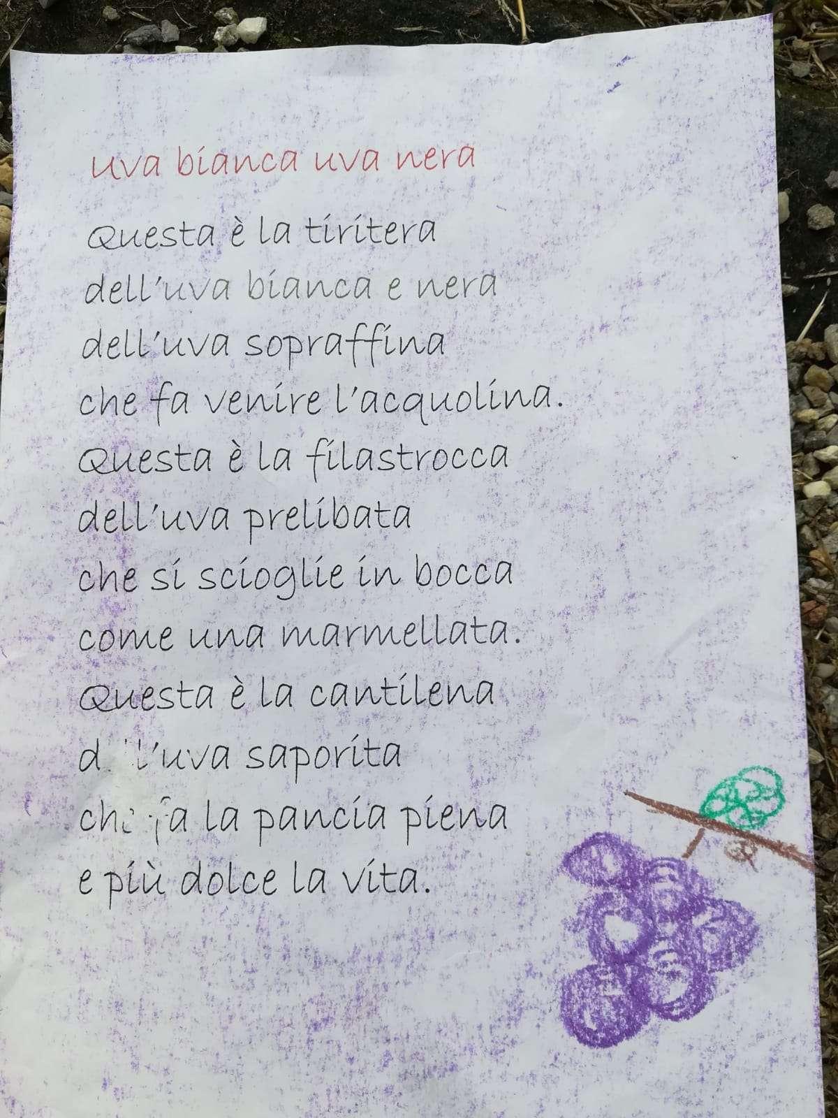 La vendemmia - Autunno 2018 - Scuola Materna Peschiera Borromeo