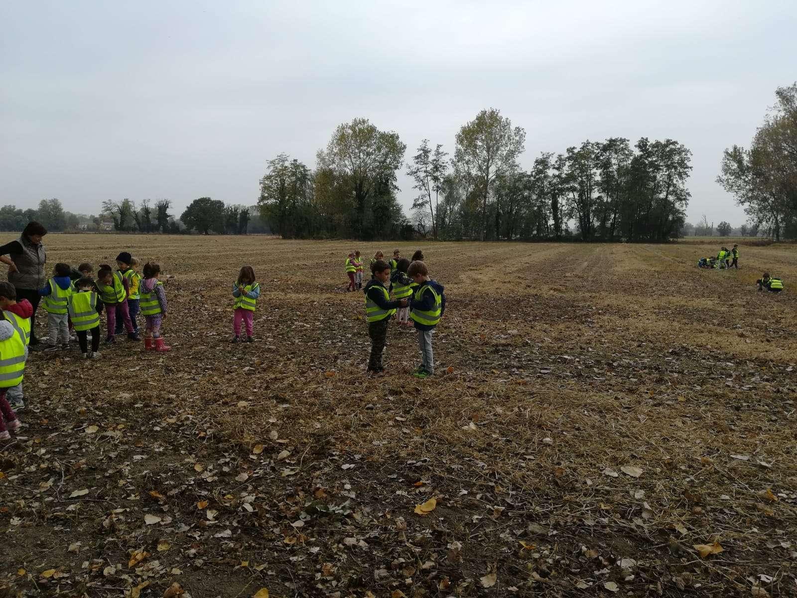 Al Carengione a trovare Carletto - Scuola Materna Peschiera Borromeo