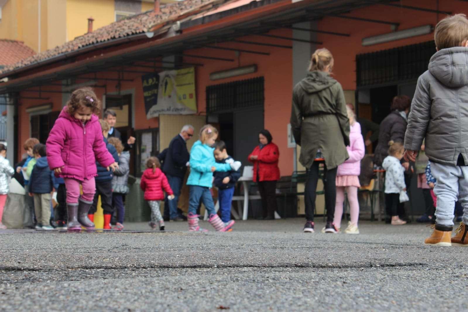 Castagnata, la merenda autunnale - Scuola Materna Peschiera Borromeo
