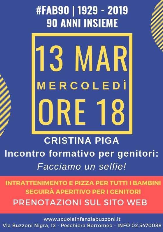 Facciamo un selfie! - #FAB90 - Scuola Materna Peschiera Borromeo