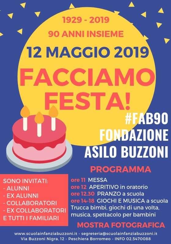 12 Maggio: facciamo festa! - Scuola Materna Peschiera Borromeo