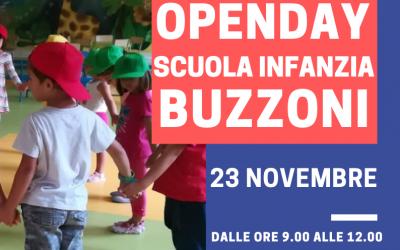 23 Novembre Open Day Scuola Infanzia Buzzoni