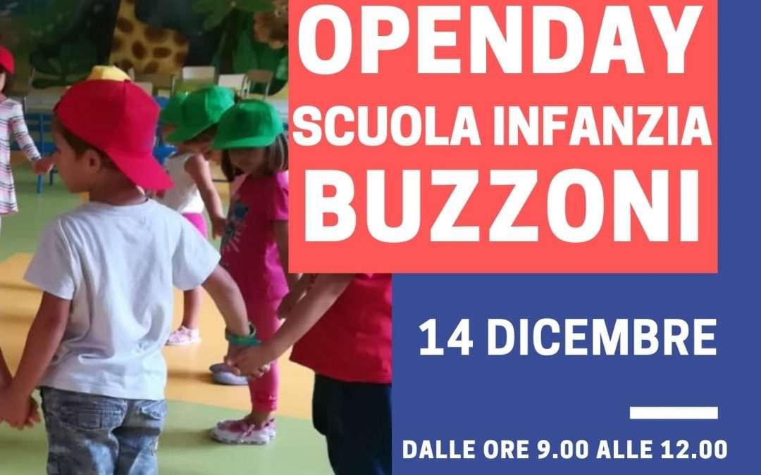 14 Dicembre Open Day Scuola Infanzia Buzzoni