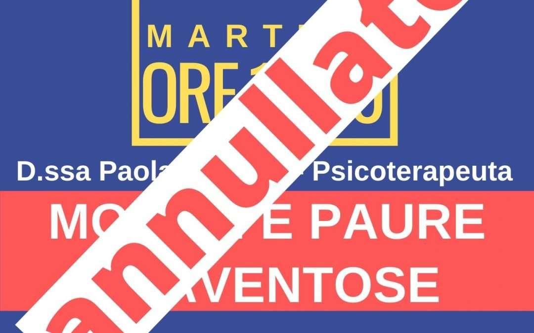 ANNULLATO – Mostri e paure spaventose – incontro 4 Febbraio 2020