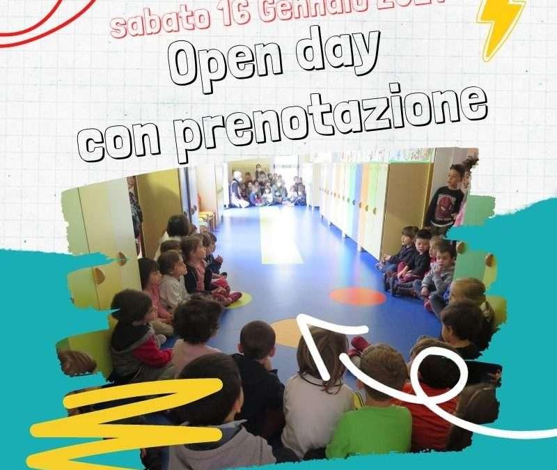 16 gennaio – Open day con prenotazione