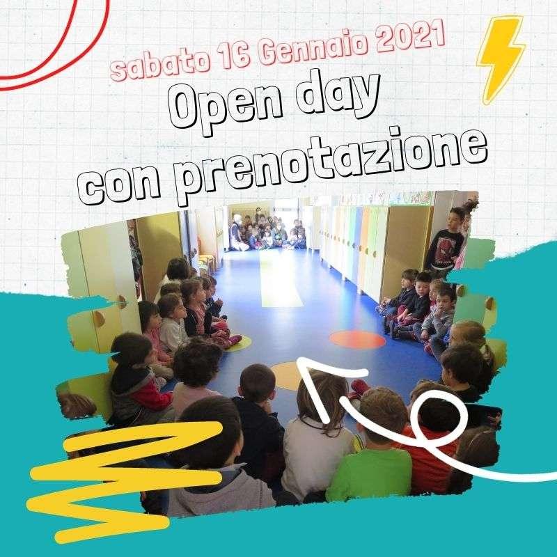 Open day con prenotazione - Scuola Materna Peschiera Borromeo